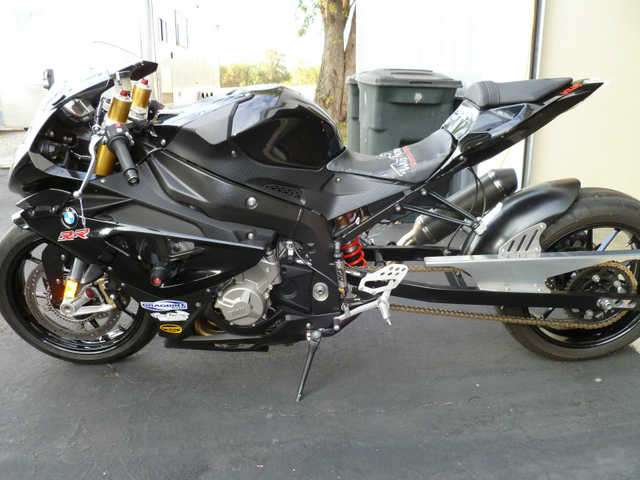 2012 Bmw S1000rr Black Like New