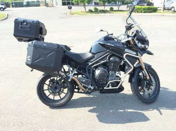 2013 Triumph Tiger Explorer - Phantom Black