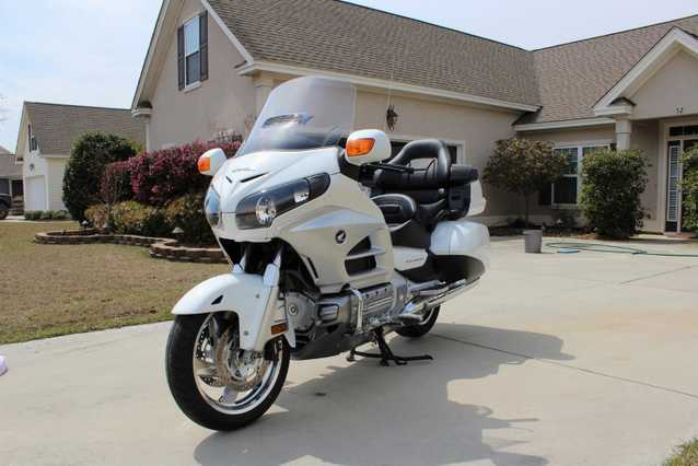 2012 Honda Goldwing With Navi Package
