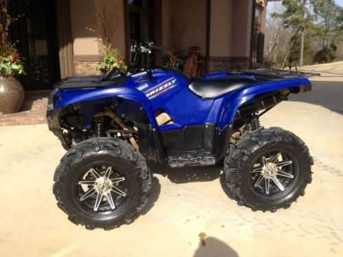 2011 Yamaha Grizzly 700 At $2000