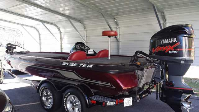 2007 Skeeter Zx225 Bass Boat At $3000
