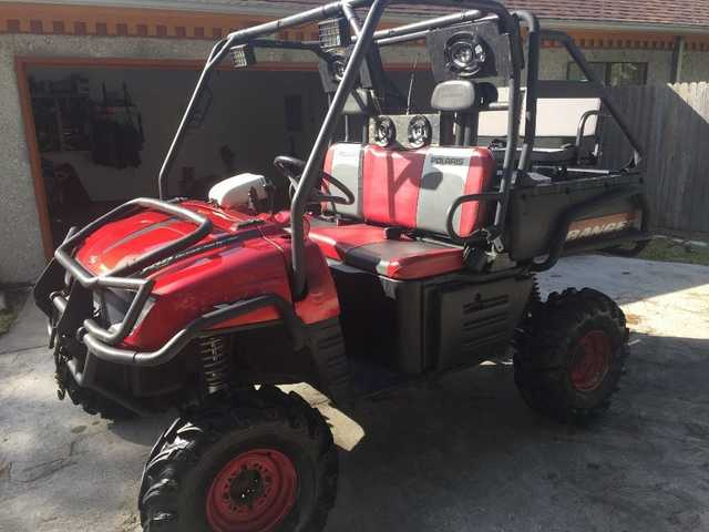 2008 Polaris Ranger 700 Efi At $2300