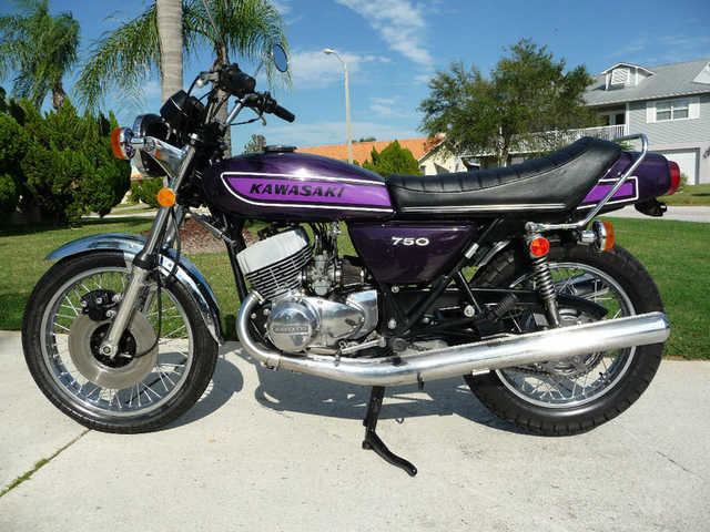 Excelent Conditions 1975 Kawasaki H2 750
