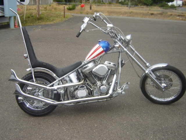 2000 Captain America Chopper Garage Kept