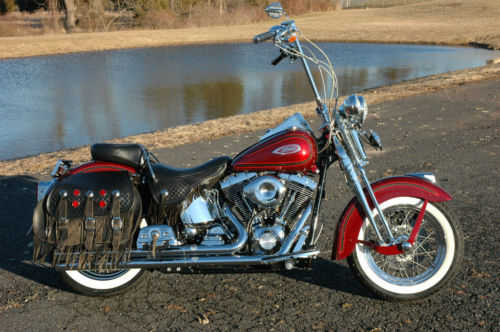 2000 Harley Davidson Heritage Springer Flsts No Accidents