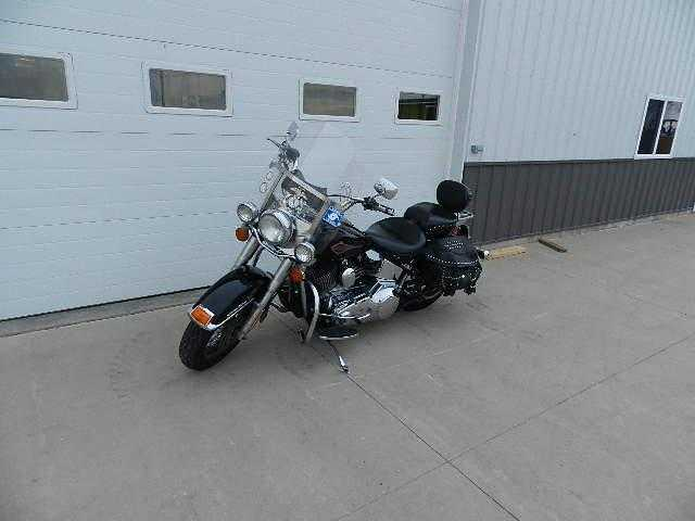 2000 Harley - Davidson Heritage Softail Cla Flstc Mint Conditions
