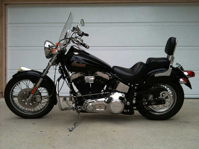 Very Very Good Conditions 2001 Black Indian Scout