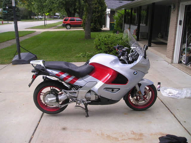 Very Well Conditions 2002 Bmw K1200 Rs