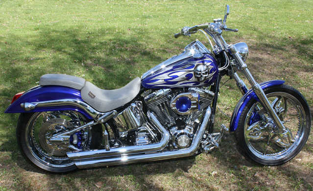 Always Garaged 2002 Harley - Davidson Softail