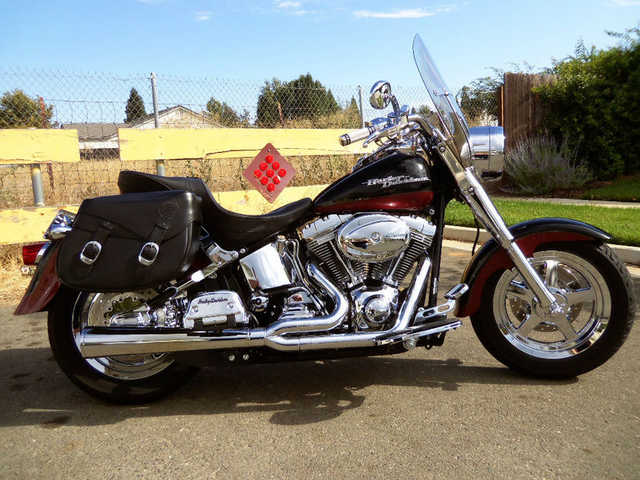 Great Shape 2002 Harley - Davidson Softail Flstfi