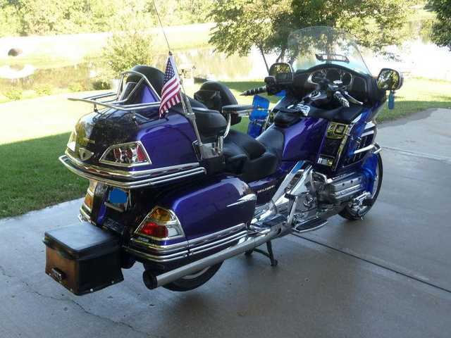 Never Been Down 2002 Honda Goldwing Gl1800