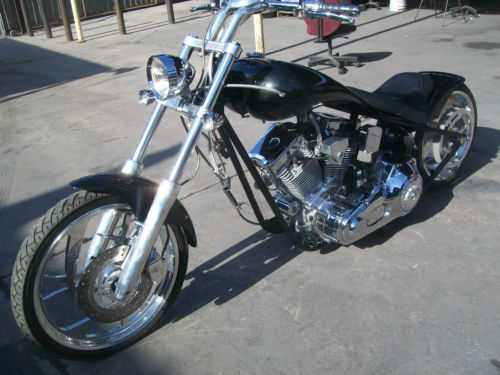 2003 Custom Chopper American Ironhorse Tejas Very Very Good Condi