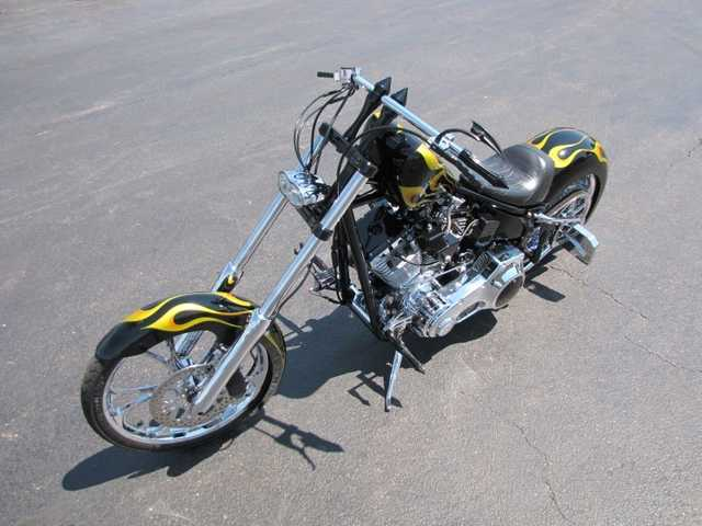 2003 Legend Iron Horse Frame Custom Chopper Very Cool