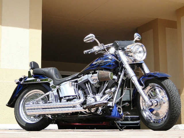 Very Cool 2004 Harley - Davidson Fat Boy