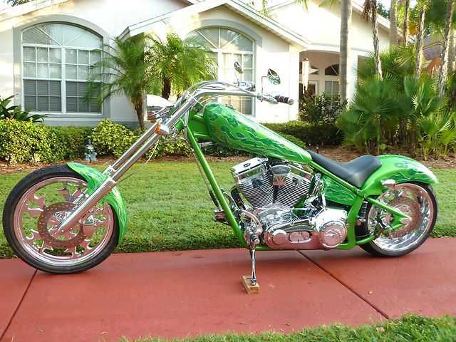 2005 American Ironhorse Aih Legend Chopper Very Very Good Conditi