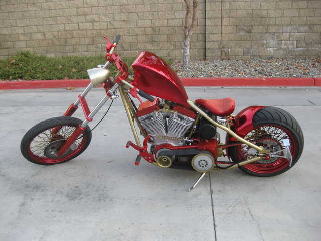2005 Custom Bobber Motorcycles Chopper Runs And Drives Great