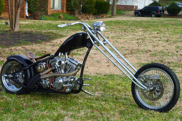 2005 Custom Built Motorcycles Chopper Von Dutch Kustom Cycles Ver