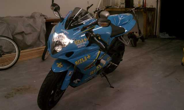 Very Well Conditions 2005 Suzuki Gsx - R 1000