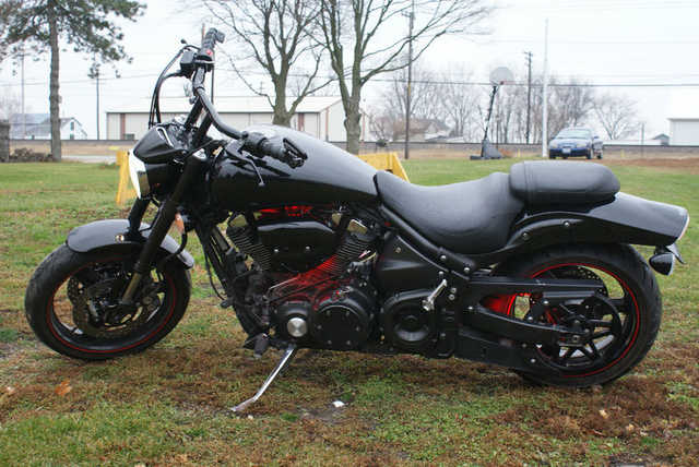 Great Shape 2005 Yamaha Roadstar Midnight Warrior