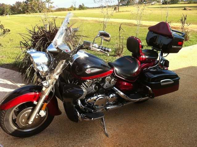Excellent Paint 2005 Yamaha Royal Star Tour Deluxe