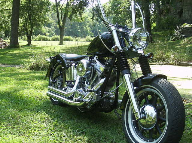 2006 Custom Built Motorcycles Bobber Excellent Paint