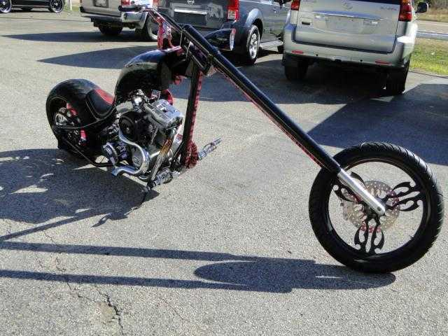2006 Custom Chopper Two Face Batman Theme Never Been Down