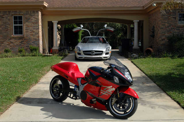 Garage Kept 2006 Suzuki Hayabusa Turbo Garage Kept