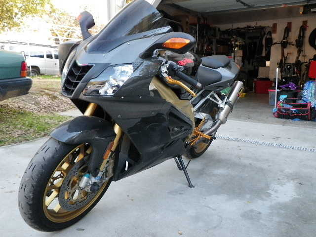 Runs Great 2008 Aprilia Rsv1000r Runs Great