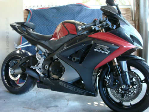 Excellent Paint 2008 Suzuki Gsx - R Excellent Paint