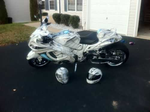 Immaculate Condition 2008 Suzuki Hayabusa Gsxr 1340cc