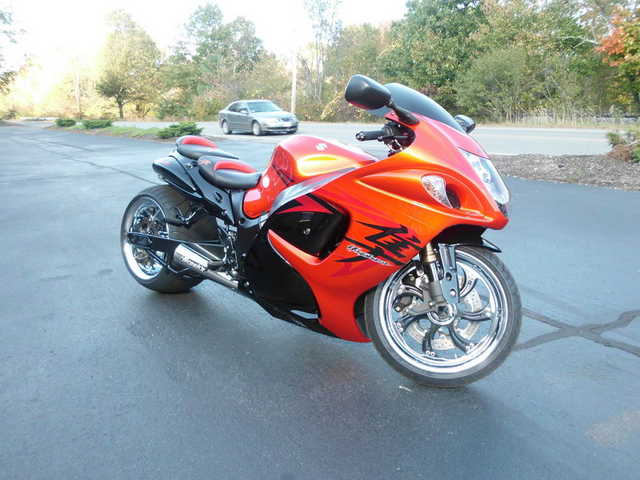 2008 Suzuki Hayabusa Hayabusa Gsx - R 1300 Runs And Drives Great