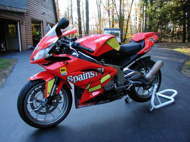 Always Garaged 2009 Aprilia Rs - 125always Garaged
