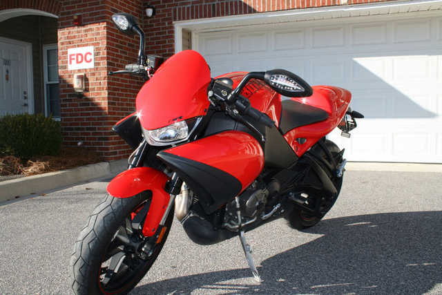 Excellent Paint 2009 Buell 1125cr Excellent Paint