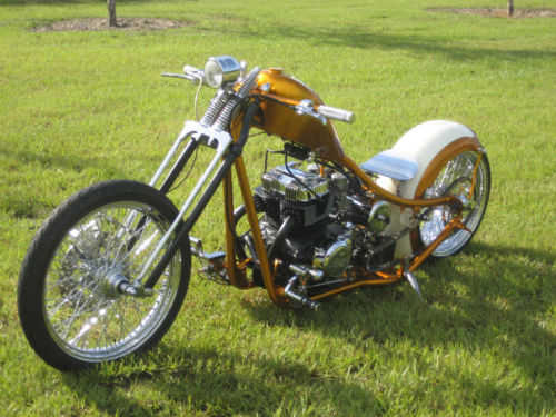 Very Cool 2009 Custom Built Motorcycles Bobber Very Cool