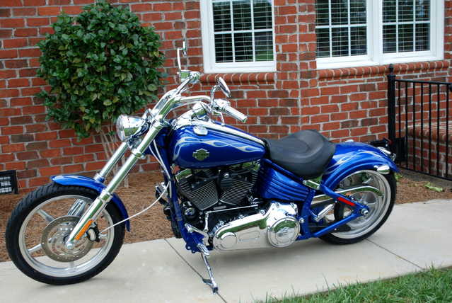 Very Well Conditions 2009 Harley - Davidson Softail Rocker C