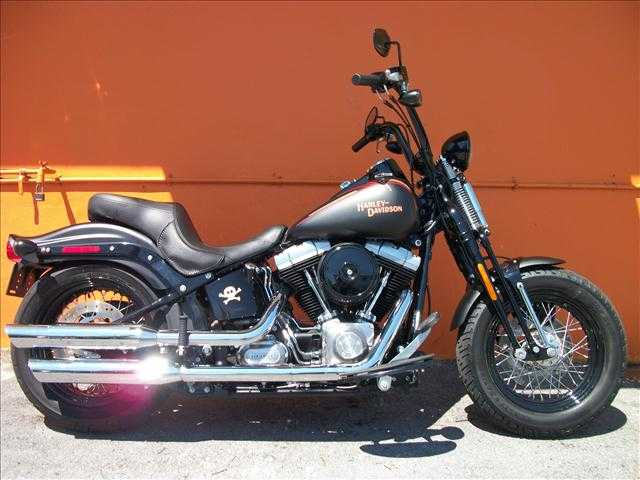 2009 Harley - Davidson Softail Flstb Cross Bones Springer Great Rid