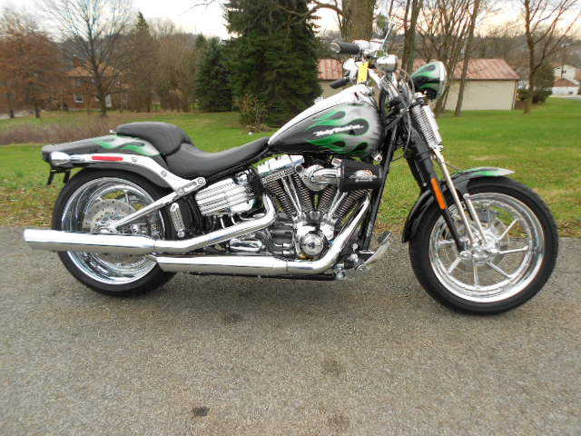 Always Garaged 2009 Harley - Davidson Softail Fxstsse3
