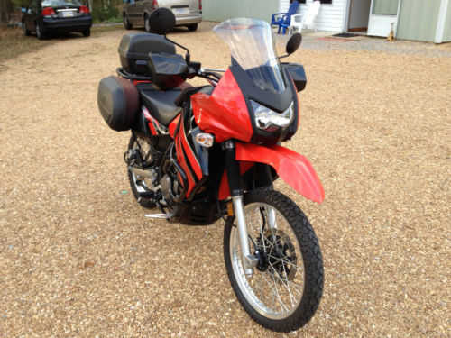Never Been Down 2009 Kawasaki Klr 650 Never Been Down