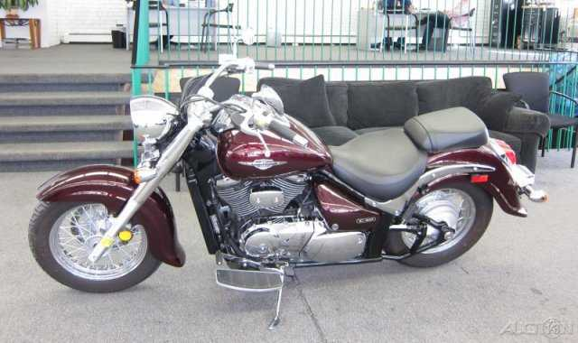 Garage Kept 2009 Suzuki Boulevard C50 Garage Kept