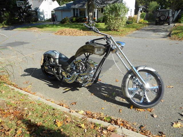 Excelent Conditions 2011 Custom Paul Jr Motorcycles Chopper