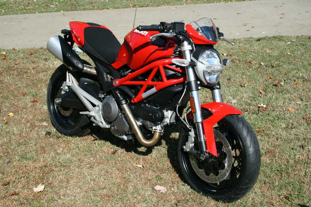 Never Been Down 2011 Ducati Monster 696 Never Been Down