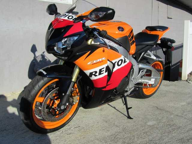 Runs And Drives Great 2011 Honda Cbr1000rr Repsol