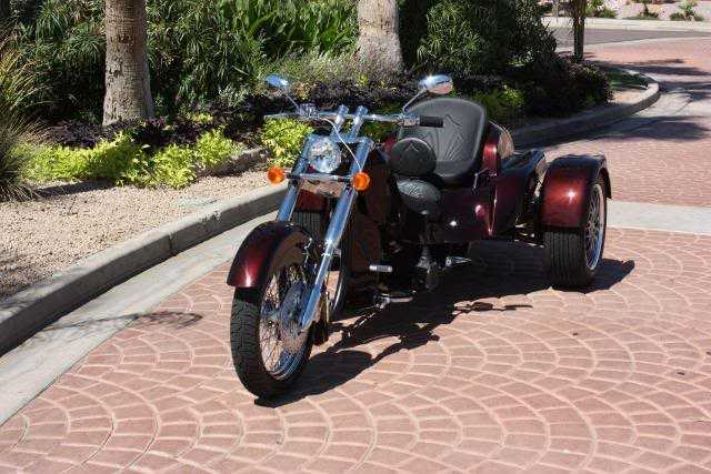 Very Very Good Conditions 2012 California Custom Trike