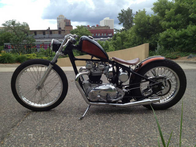 Always Garaged 1968 Triumph Motorcycle Bobber Always Garaged