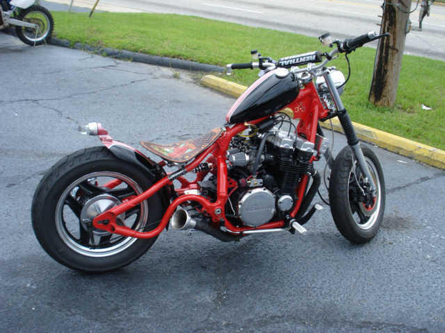 Never Been Down 1986 Custom Built Motorcycles Bobber