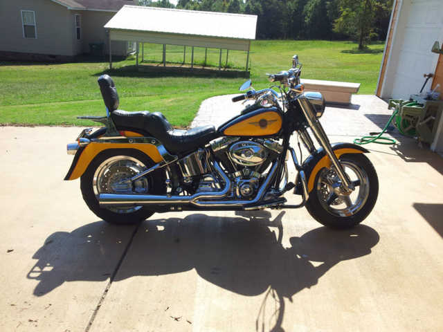 Garage Kept 2000 Harley - Davidson Softailfat Boy Garage Kept