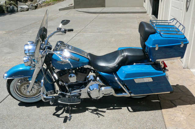 Very Well Conditions 2001 Harley Davidson Road King Custom Bagger