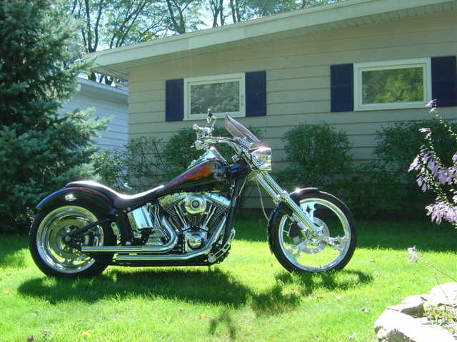 2004 Thunder Mountain Blackhawk 240 Custom Chopper Very Well Cond
