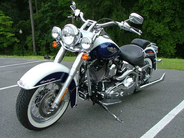Runs Great 2006 Harley Davidson Softail Deluxe Flstni Runs Great