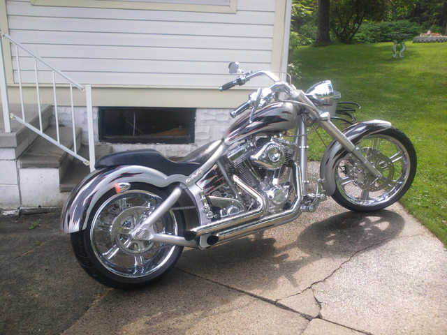 Great Riding Condition 2007 Custom Built Motorcycles Chopper